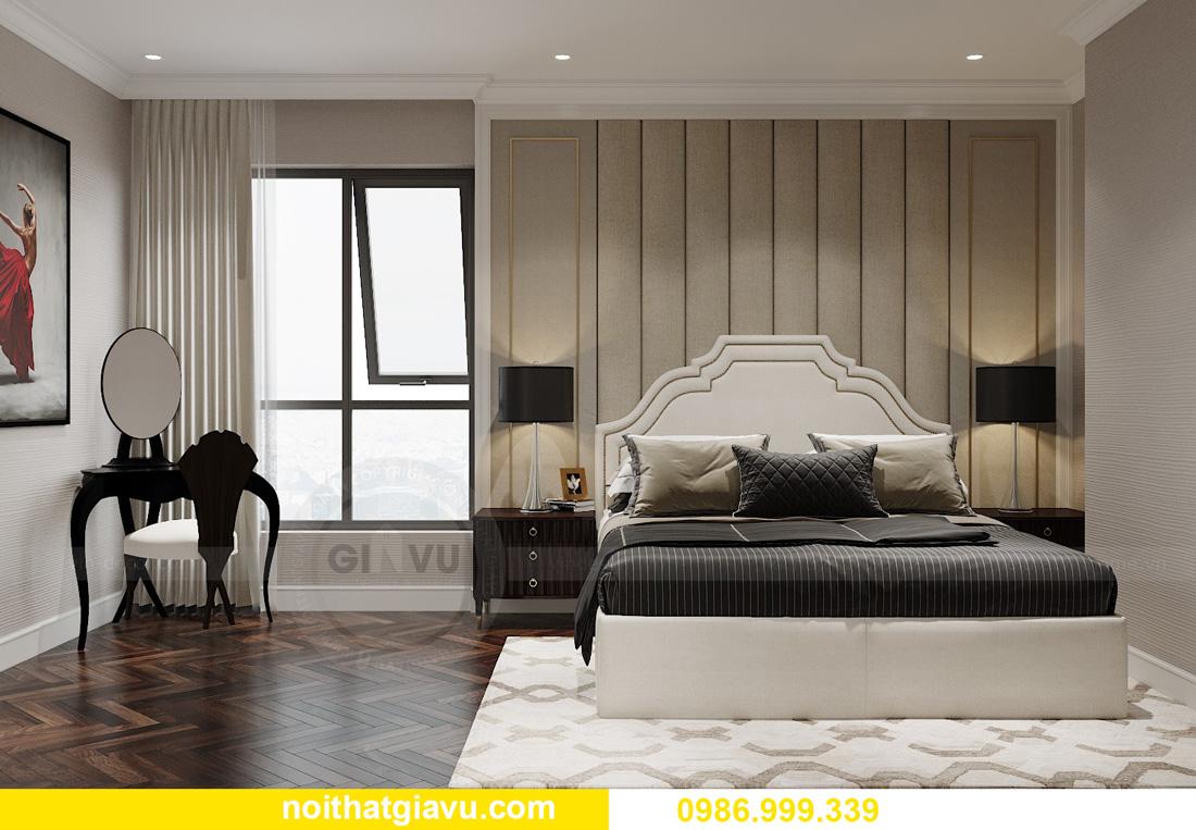 thiết kế nội thất chung cư Smart City Tây Mỗ 07