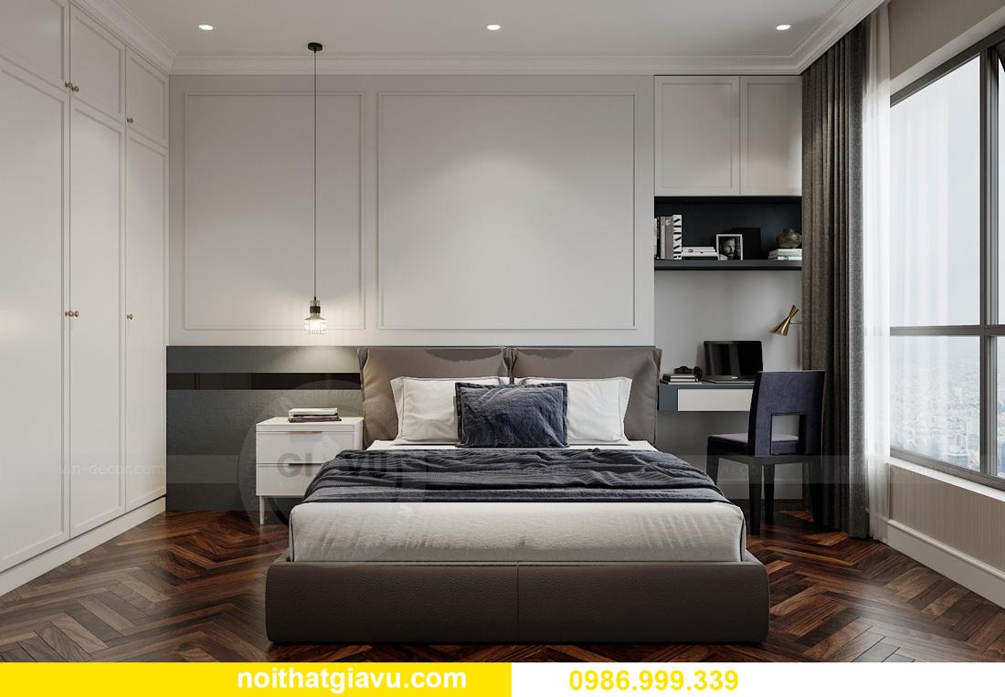 thiết kế nội thất chung cư Smart City Tây Mỗ 10