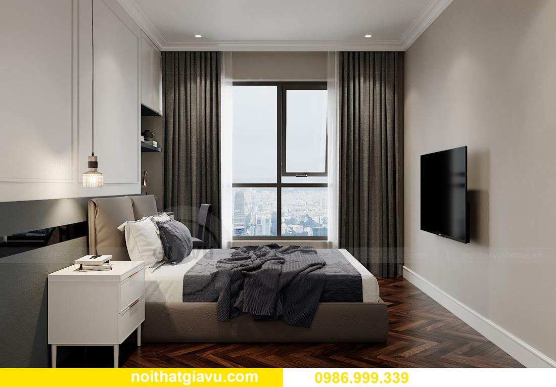thiết kế nội thất chung cư Smart City Tây Mỗ 11