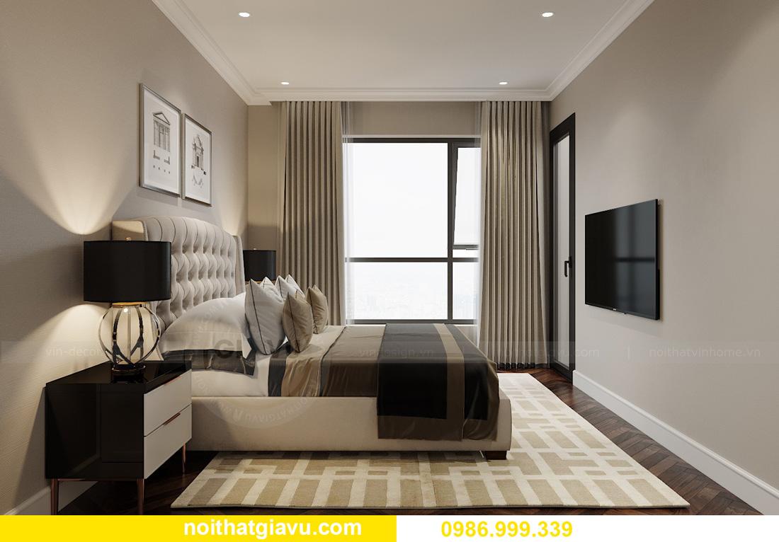 thiết kế nội thất chung cư Smart City Tây Mỗ 12