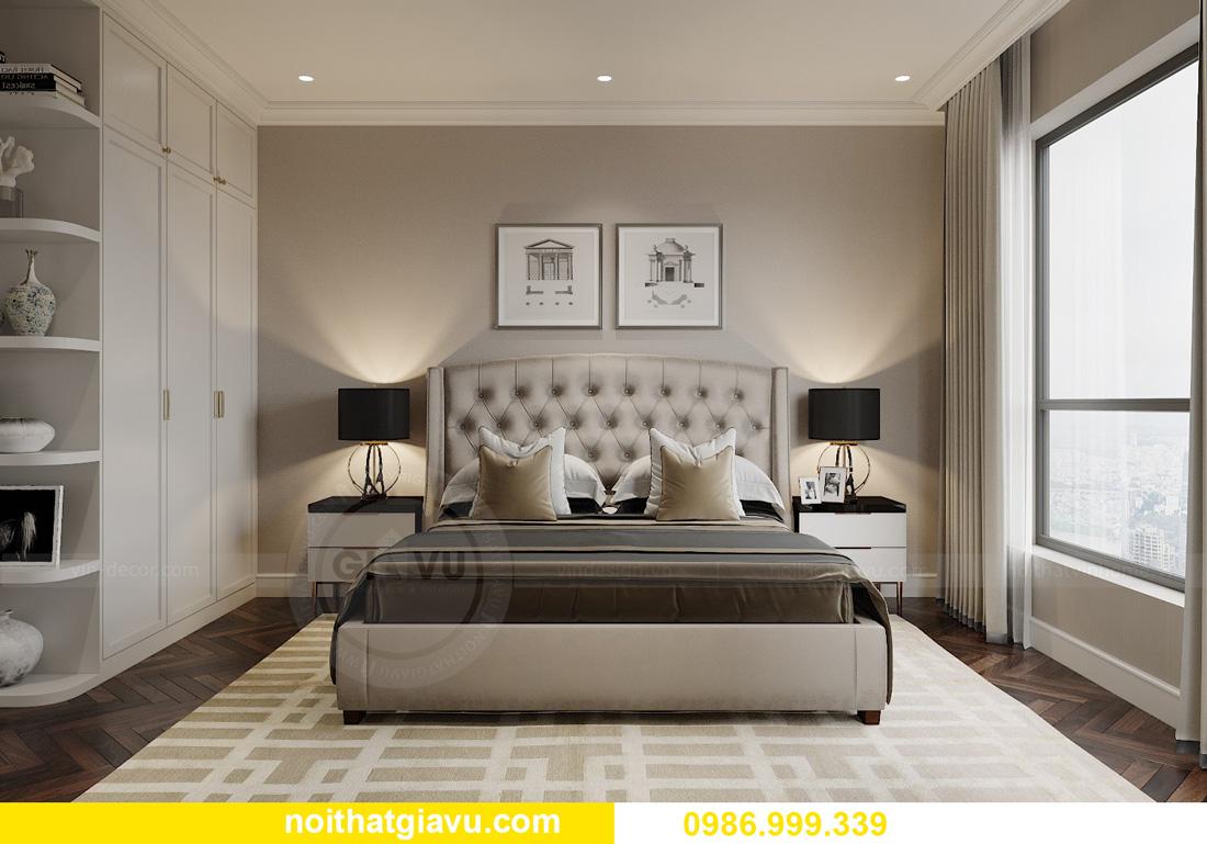 thiết kế nội thất chung cư Smart City Tây Mỗ 13