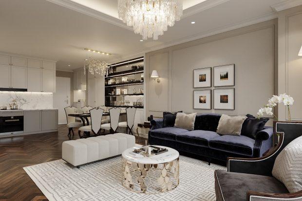 Thiết kế nội thất chung cư Smart City Tây Mỗ – Nội Thất Gia Vũ