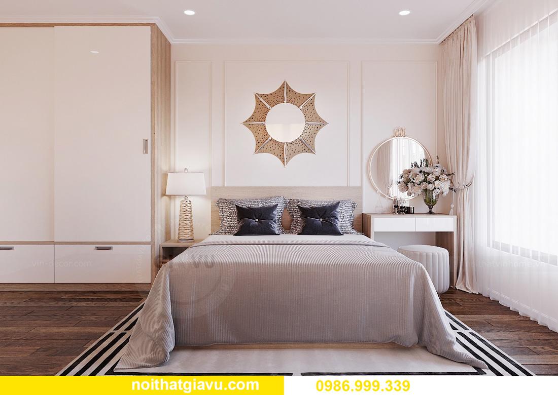 thiết kế nội thất chung cư West Point 2 ngủ đơn giản nhẹ nhàng 06