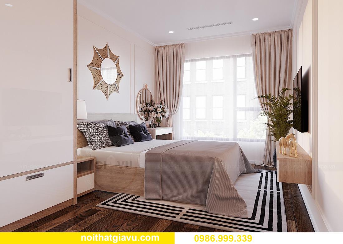 thiết kế nội thất chung cư West Point 2 ngủ đơn giản nhẹ nhàng 07