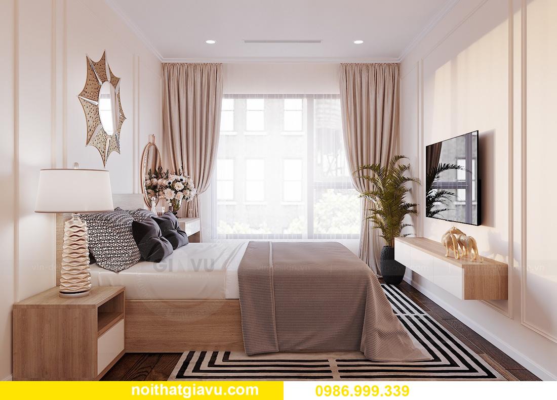 thiết kế nội thất chung cư West Point 2 ngủ đơn giản nhẹ nhàng 08