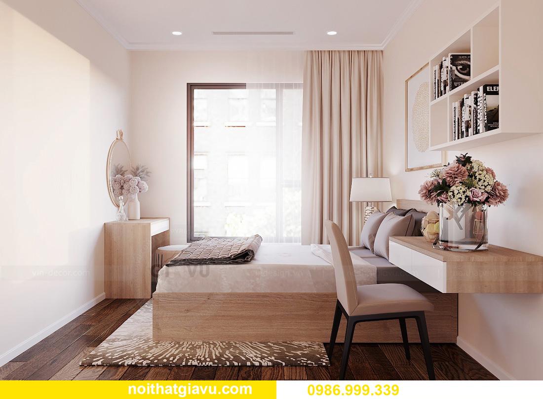 thiết kế nội thất chung cư West Point 2 ngủ đơn giản nhẹ nhàng 09