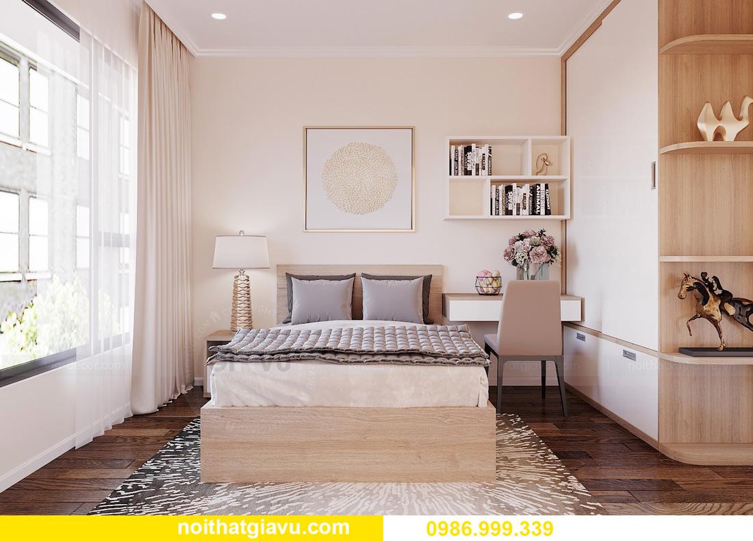 thiết kế nội thất chung cư West Point 2 ngủ đơn giản nhẹ nhàng 10