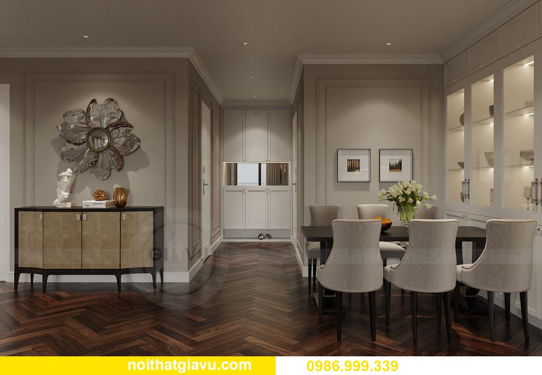thiết kế thi công nội thất chung cư West Point tòa W3 căn 05A 1