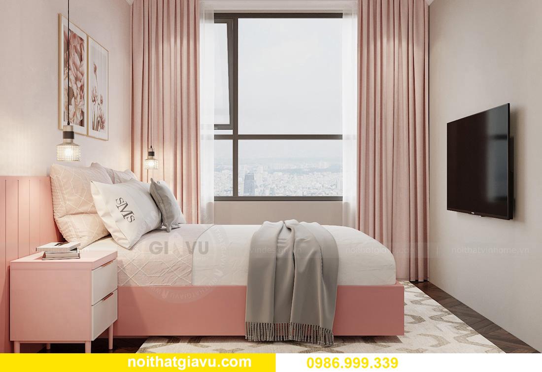 thiết kế thi công nội thất chung cư West Point tòa W3 căn 05A 11