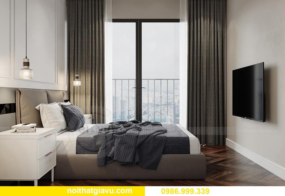 thiết kế thi công nội thất chung cư West Point tòa W3 căn 05A 13