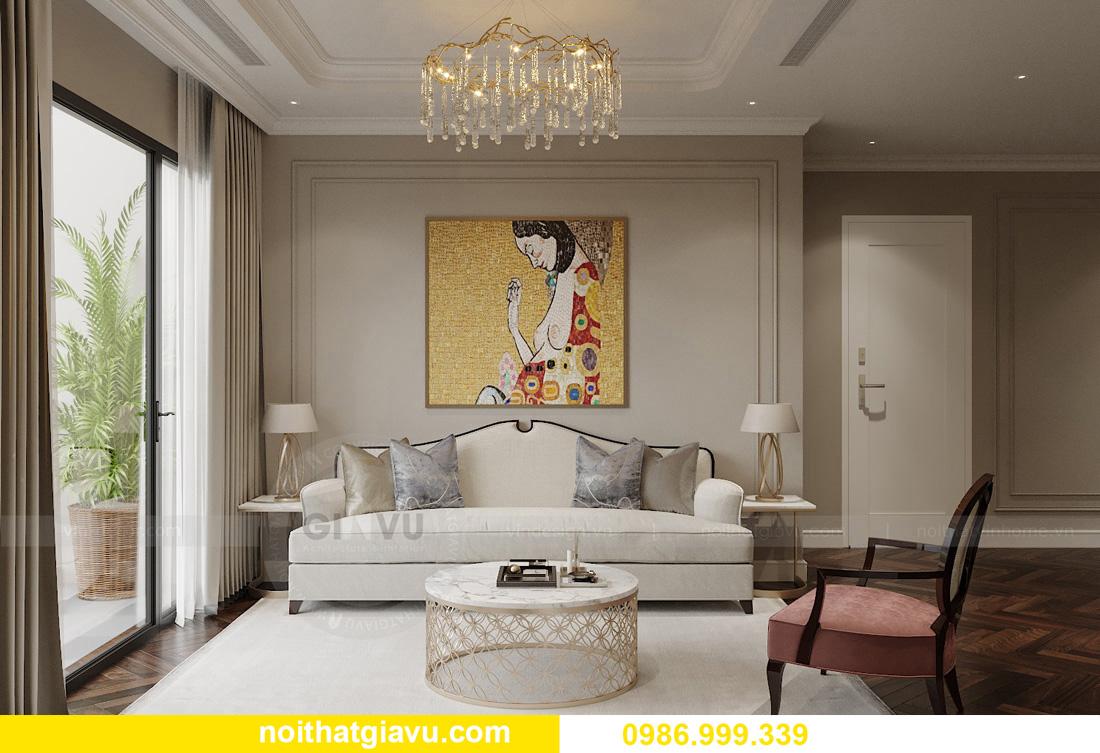 thiết kế thi công nội thất chung cư West Point tòa W3 căn 05A 5