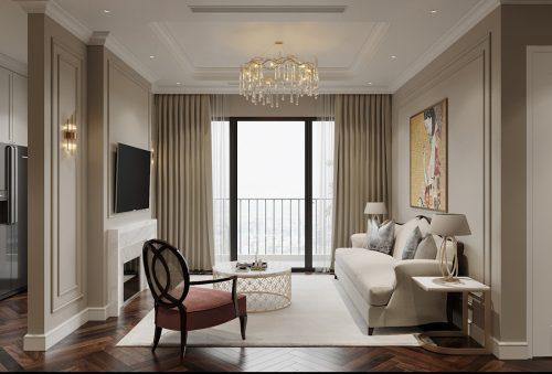 Thiết kế thi công nội thất chung cư West Point tòa W3 căn 05A