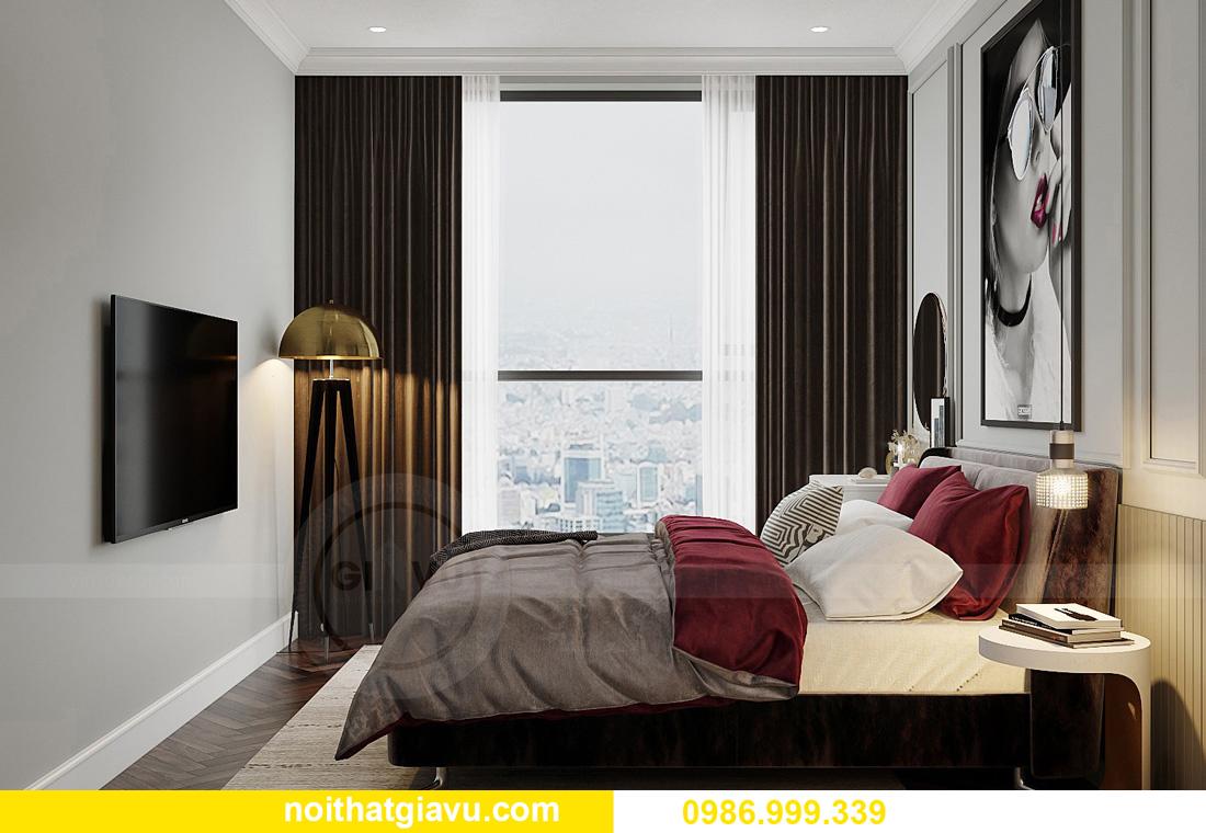 thiết kế nội thất Vinhomes West Point tòa W3 căn hộ 12 05