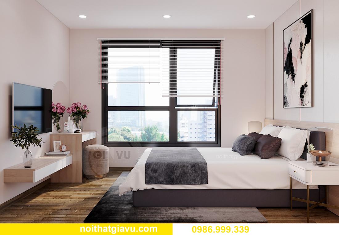 mẫu nội thất chung cư West Point tòa W1 căn OT03 CH1 06