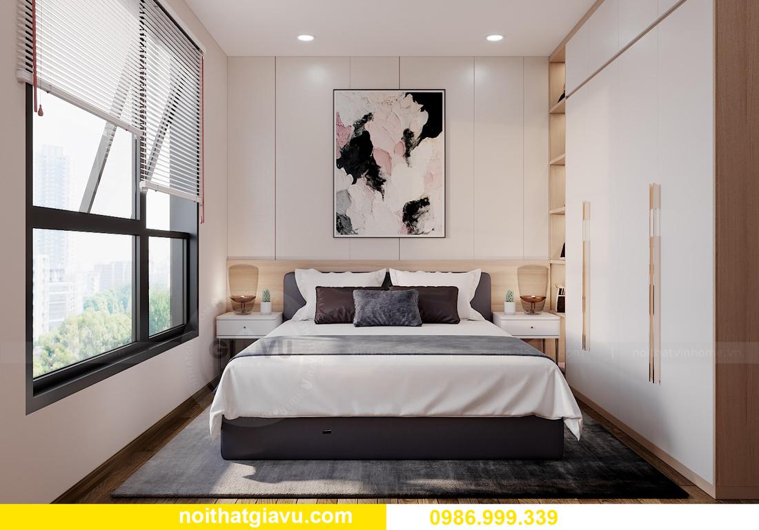 mẫu nội thất chung cư West Point tòa W1 căn OT03 CH1 07