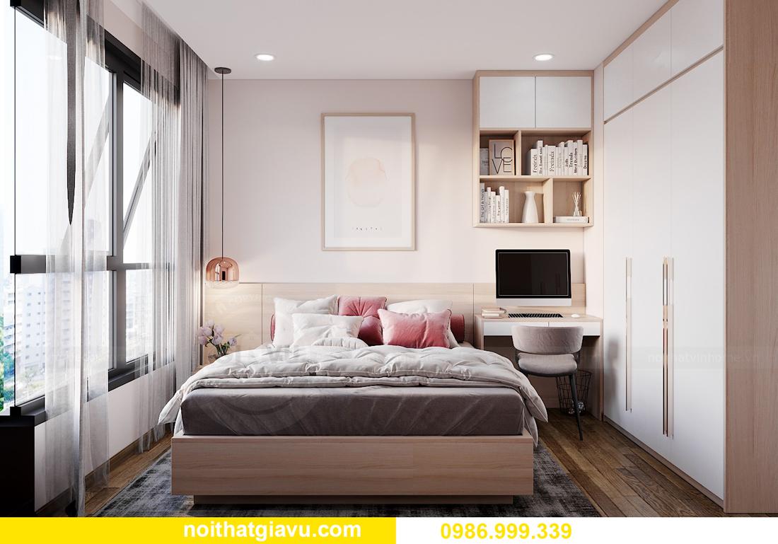 mẫu nội thất chung cư West Point tòa W1 căn OT03 CH1 09