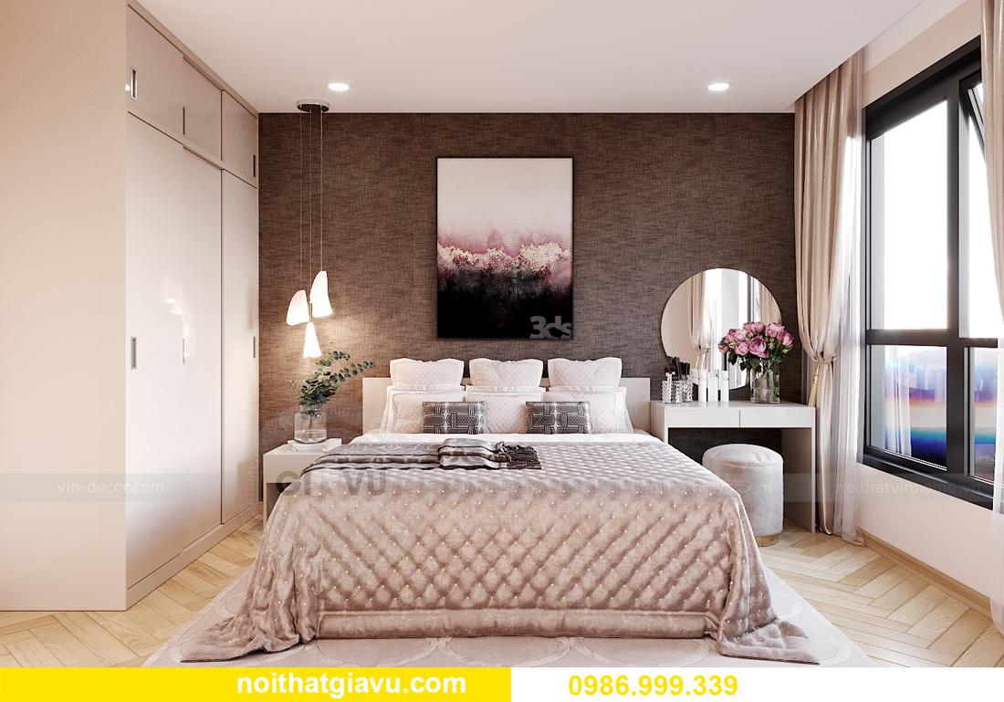 thiết kế nội thất Vinhomes Smart City Tây Mỗ căn 3 ngủ 8