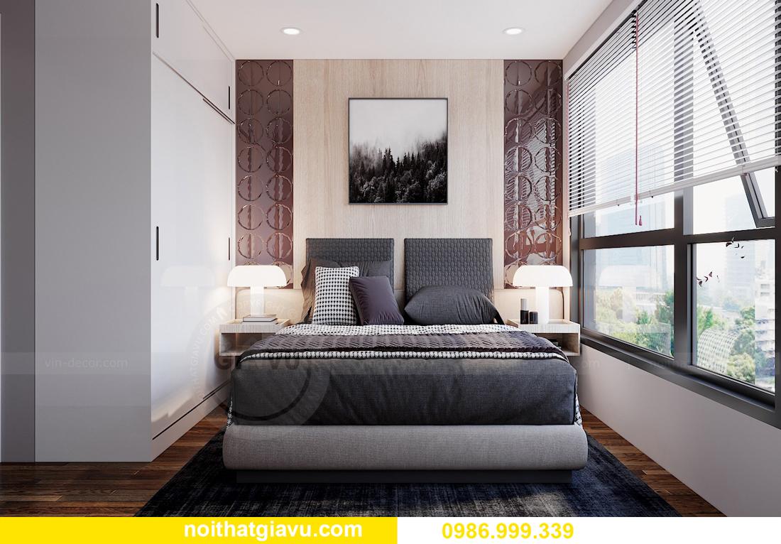 thiết kế hoàn thiện nội thất Vinhomes West Point W2 căn 11A 7
