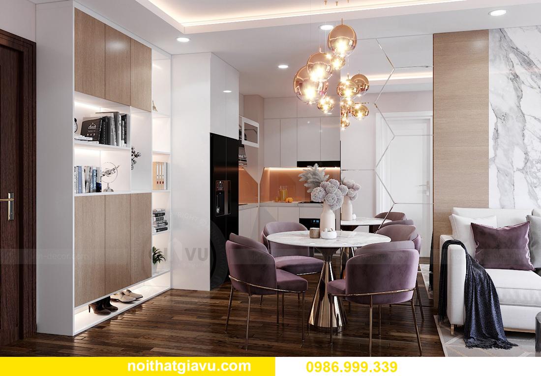 mẫu thiết kế nội thất Vinhomes West Point tòa W1 căn 02 1