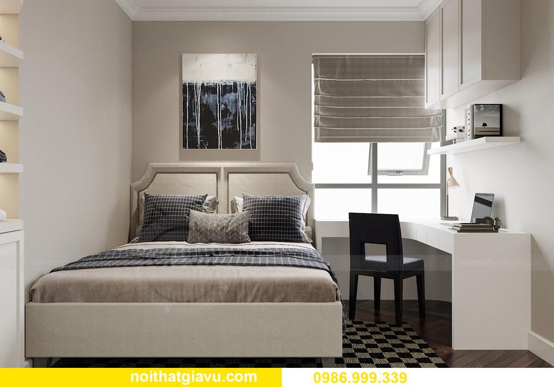 thiết kế nội thất chung cư Imperia Sky Garden nhà chị Nga 12