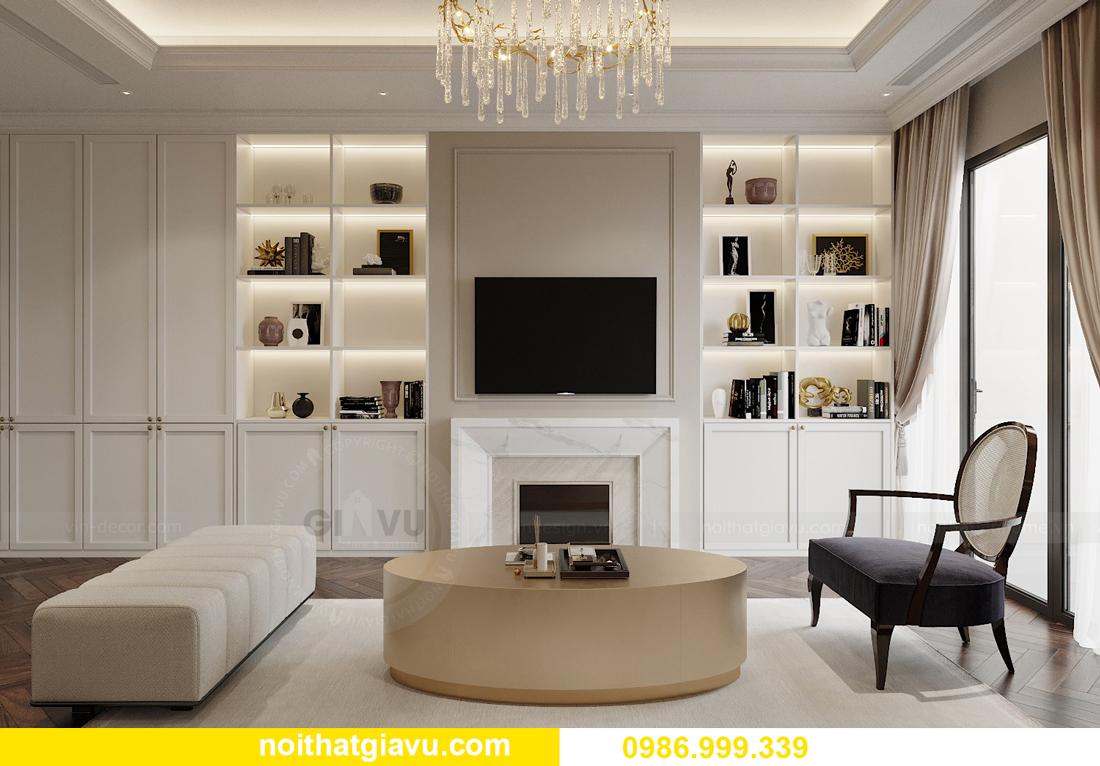 thiết kế nội thất chung cư Imperia Sky Garden nhà chị Nga 2