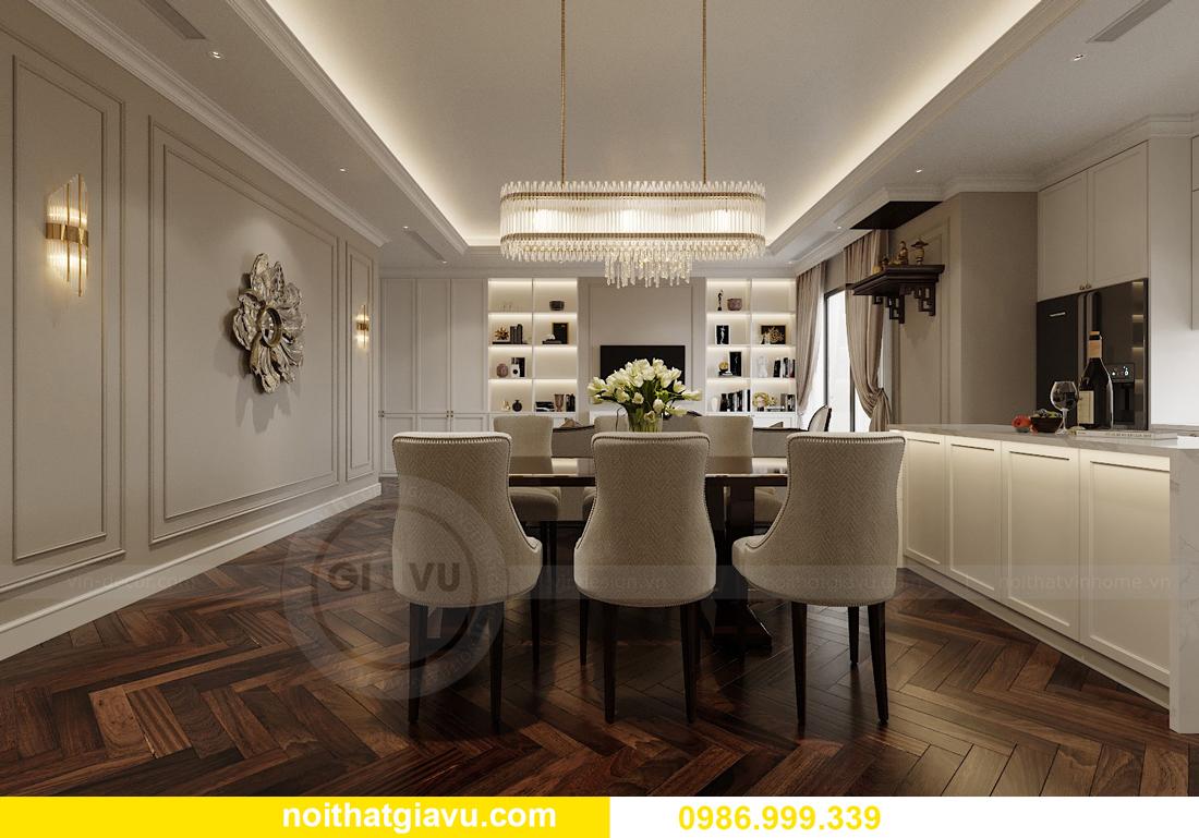 thiết kế nội thất chung cư Imperia Sky Garden nhà chị Nga 5