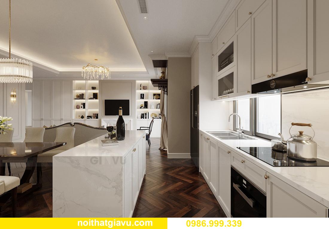 thiết kế nội thất chung cư Imperia Sky Garden nhà chị Nga 6