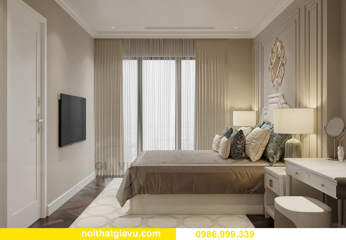 thiết kế nội thất chung cư Imperia Sky Garden nhà chị Nga 7