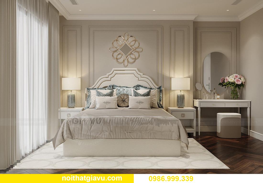 thiết kế nội thất chung cư Imperia Sky Garden nhà chị Nga 8