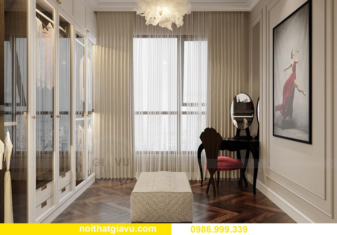 thiết kế nội thất chung cư Imperia Sky Garden nhà chị Nga 9