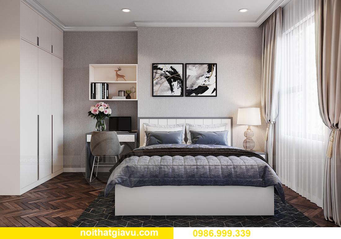 thiết kế nội thất tại chung cư IA20 Ciputra căn 3 ngủ 10