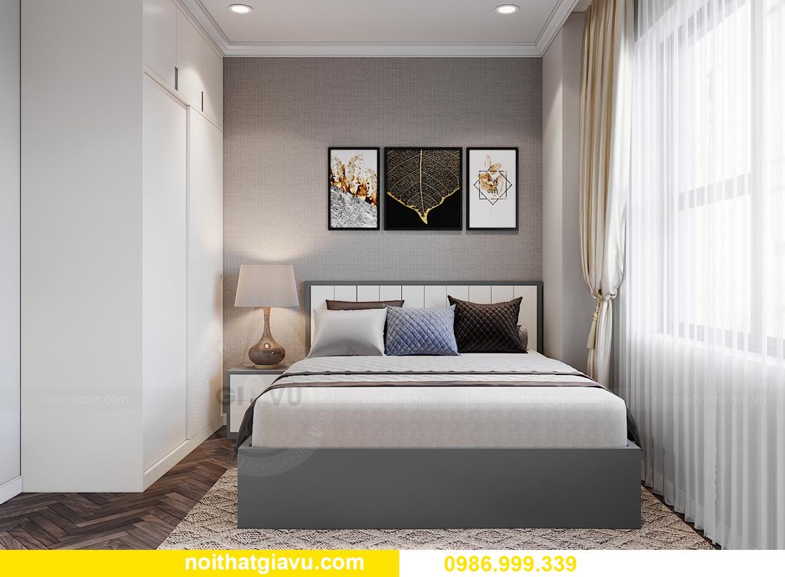 thiết kế nội thất tại chung cư IA20 Ciputra căn 3 ngủ 12