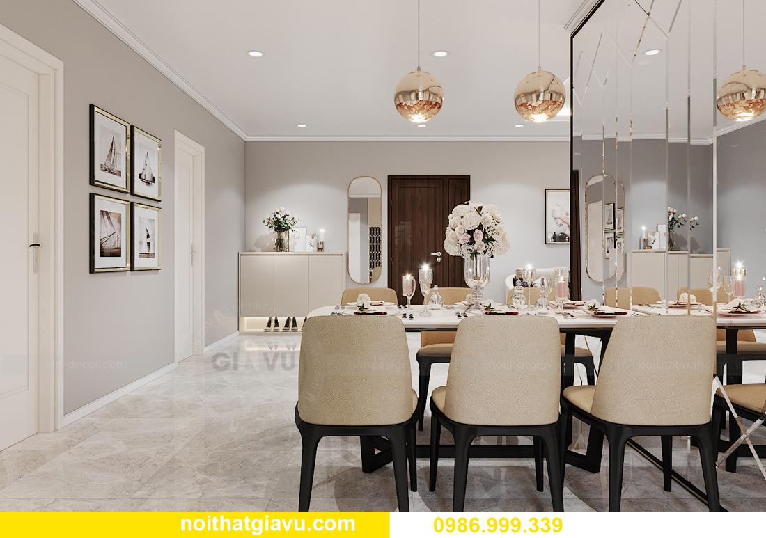 thiết kế nội thất tại chung cư IA20 Ciputra căn 3 ngủ 5