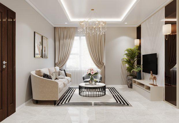 Thiết kế nội thất tại chung cư IA20 Ciputra căn 3 ngủ