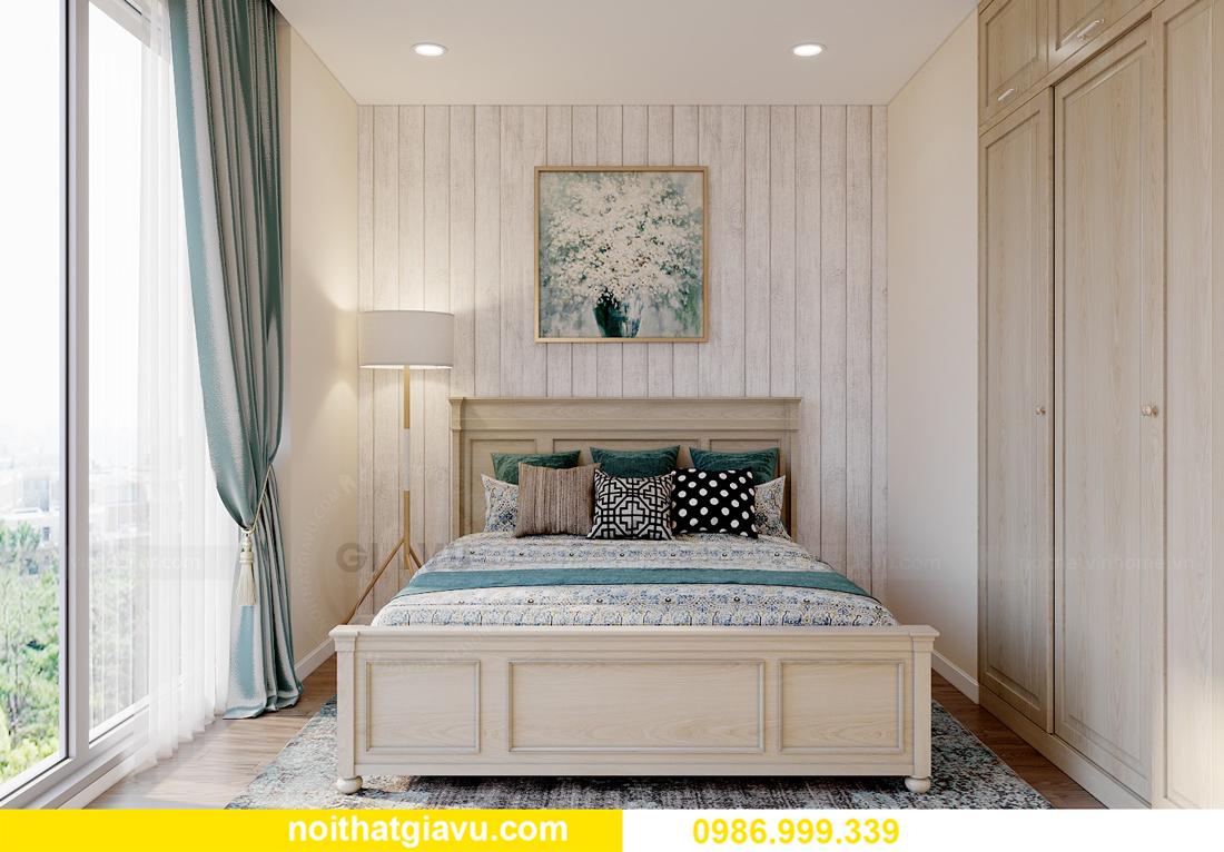 thiết kế thi công nội thất Vinhomes Smart City căn 3 ngủ 6