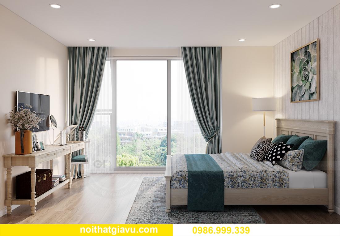 thiết kế thi công nội thất Vinhomes Smart City căn 3 ngủ 7