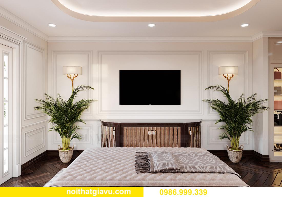 thiết kế nội thất biệt thự OCean Park căn đơn lập Ngọc Trai 10