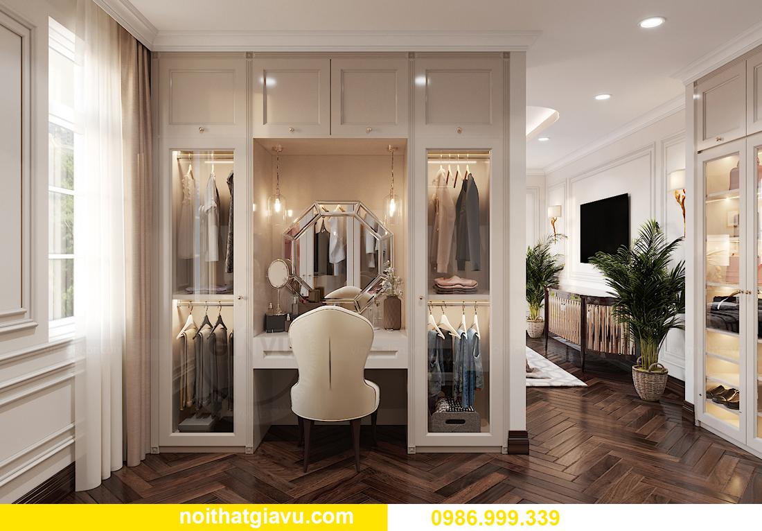 thiết kế nội thất biệt thự OCean Park căn đơn lập Ngọc Trai 12