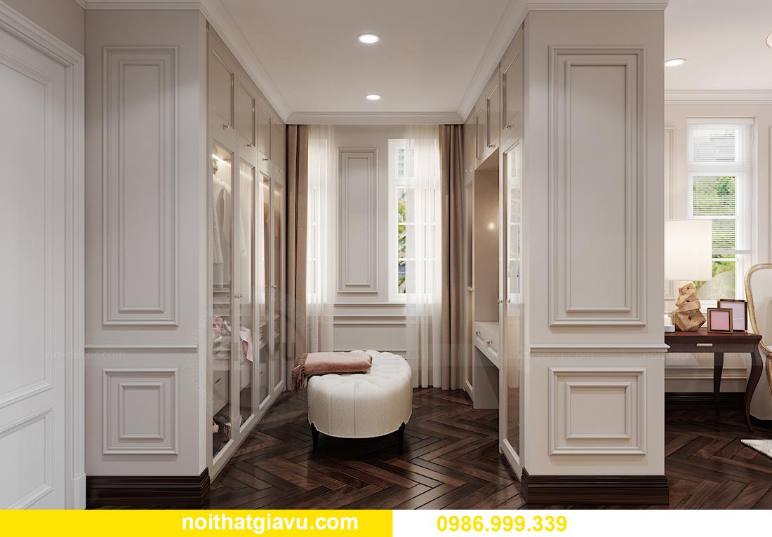 thiết kế nội thất biệt thự OCean Park căn đơn lập Ngọc Trai 13