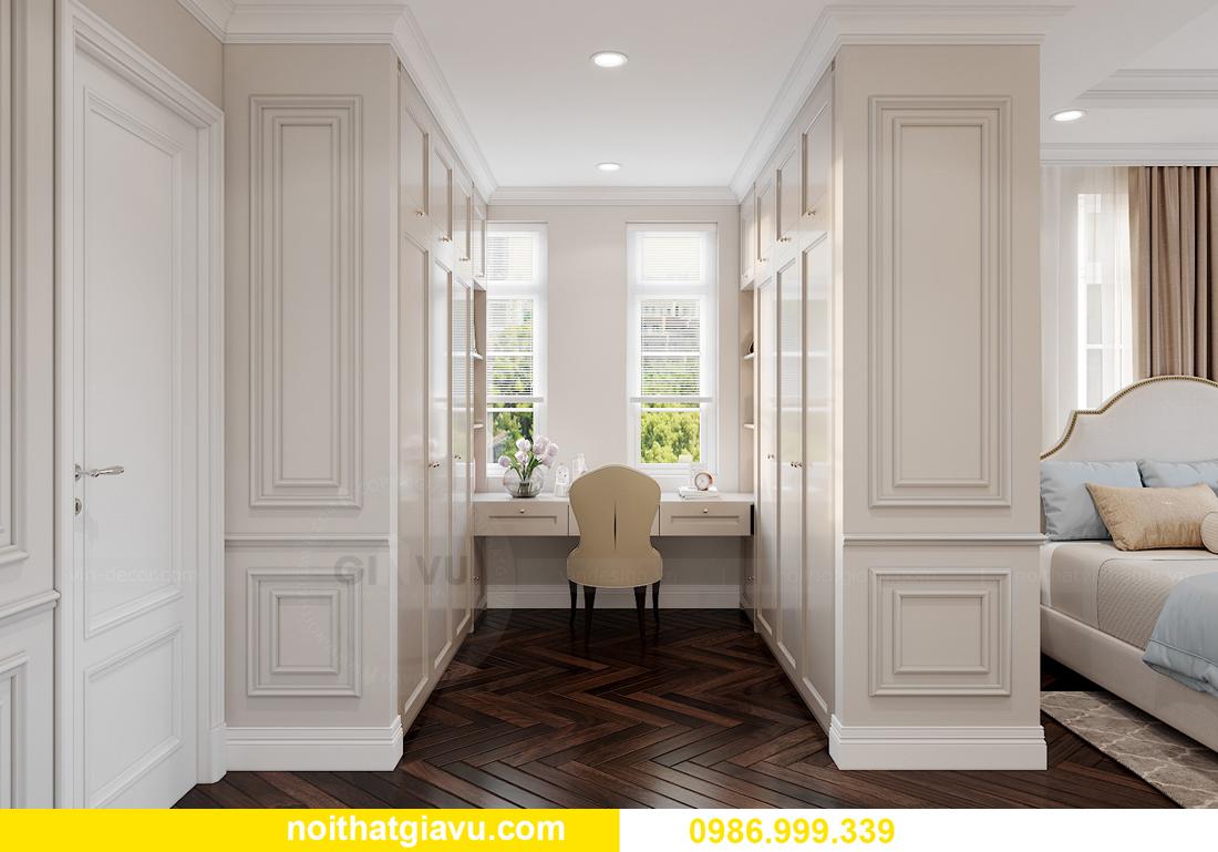 thiết kế nội thất biệt thự OCean Park căn đơn lập Ngọc Trai 22