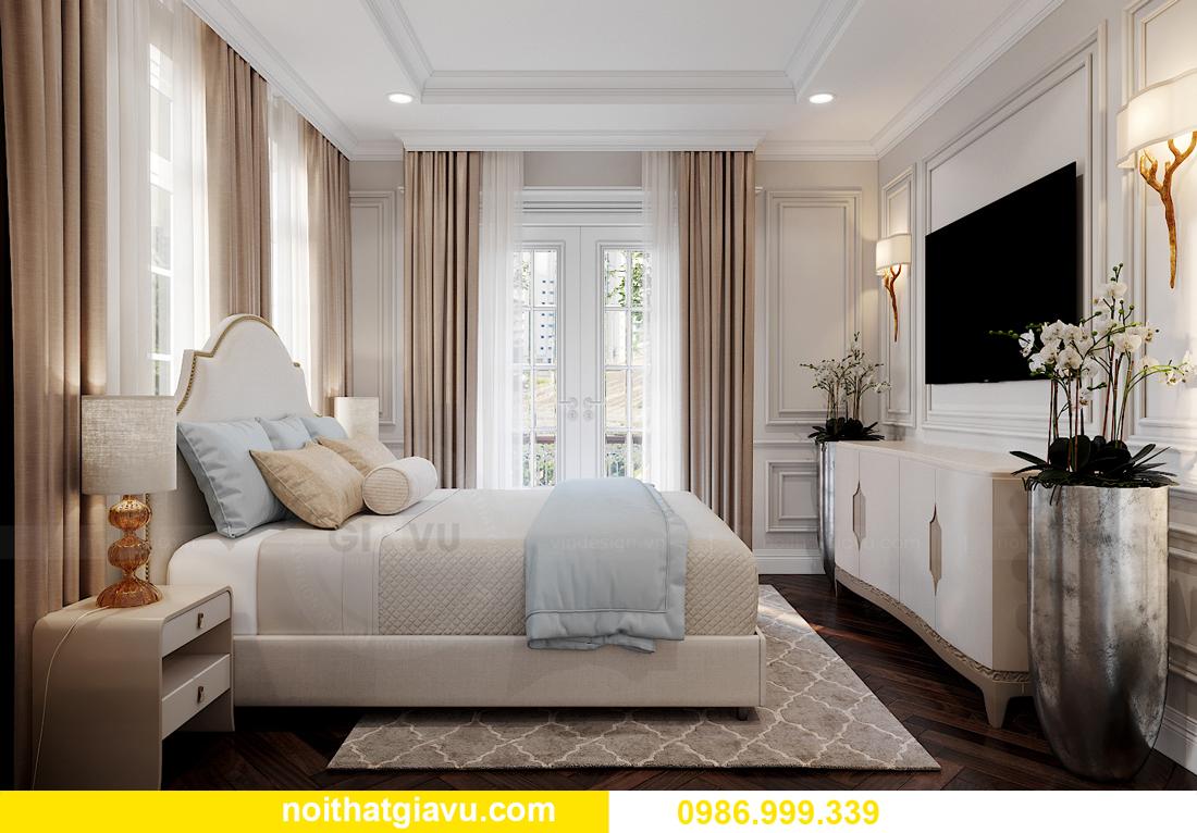 thiết kế nội thất biệt thự OCean Park căn đơn lập Ngọc Trai 24