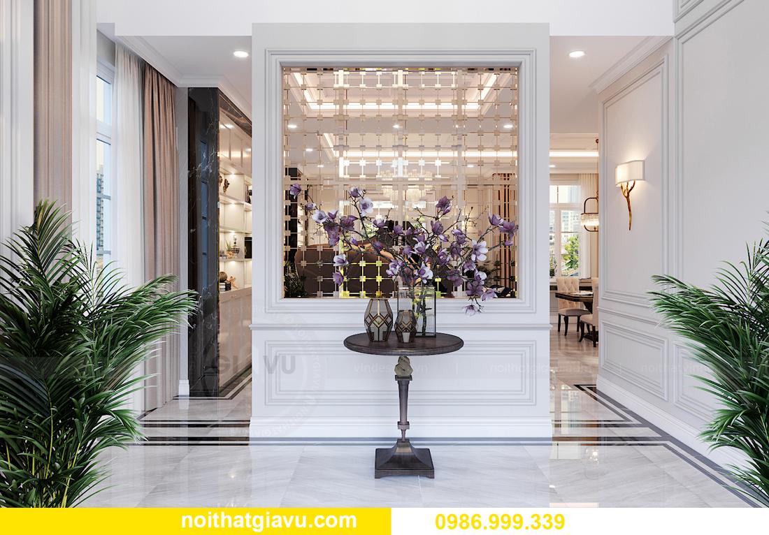 thiết kế nội thất biệt thự OCean Park căn đơn lập Ngọc Trai 5