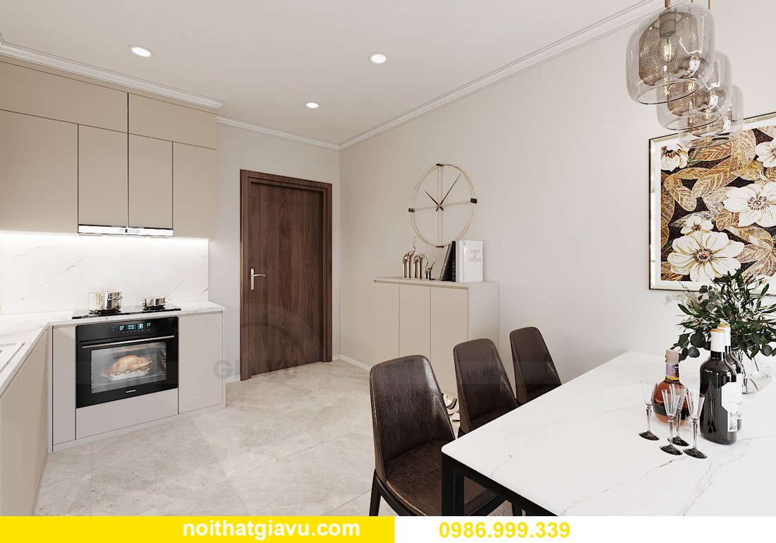 thiết kế nội thất Vinhomes Smart City tòa S1.01 căn 06 1
