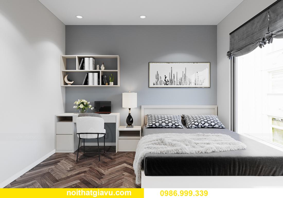 thiết kế nội thất Vinhomes Smart City tòa S1.01 căn 06 11