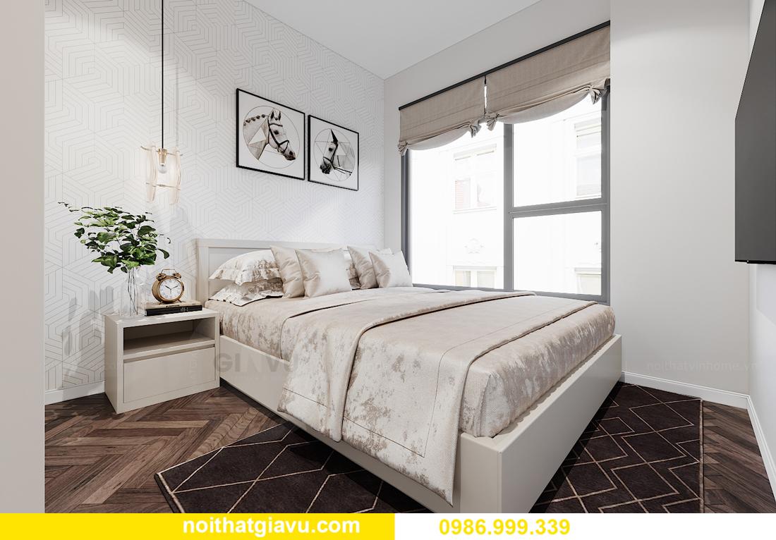 thiết kế nội thất Vinhomes Smart City tòa S1.01 căn 06 12