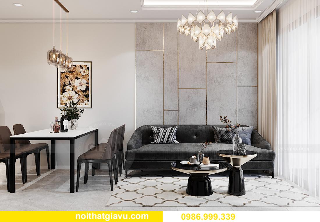 thiết kế nội thất Vinhomes Smart City tòa S1.01 căn 06 4