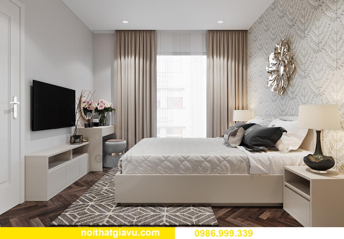 thiết kế nội thất Vinhomes Smart City tòa S1.01 căn 06 7