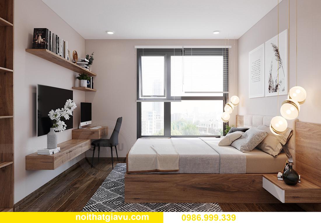 mẫu thiết kế nội thất căn hộ 01 tòa S202 Vinhomes Smart City 10