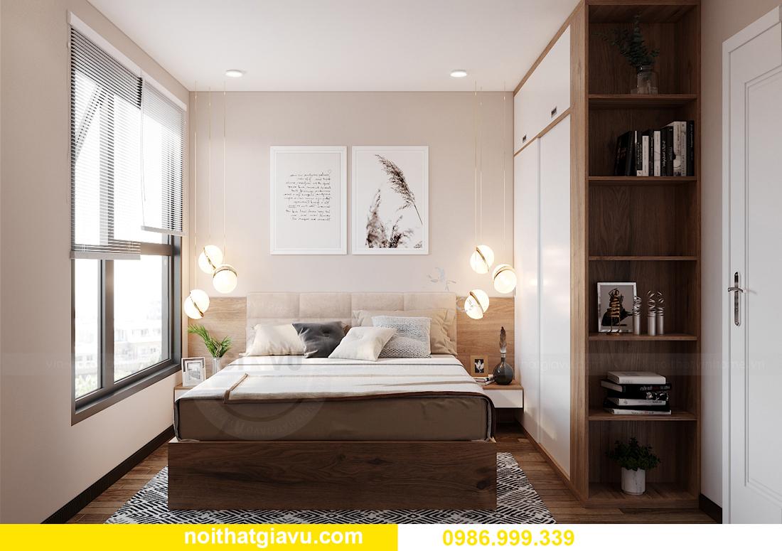 mẫu thiết kế nội thất căn hộ 01 tòa S202 Vinhomes Smart City 11