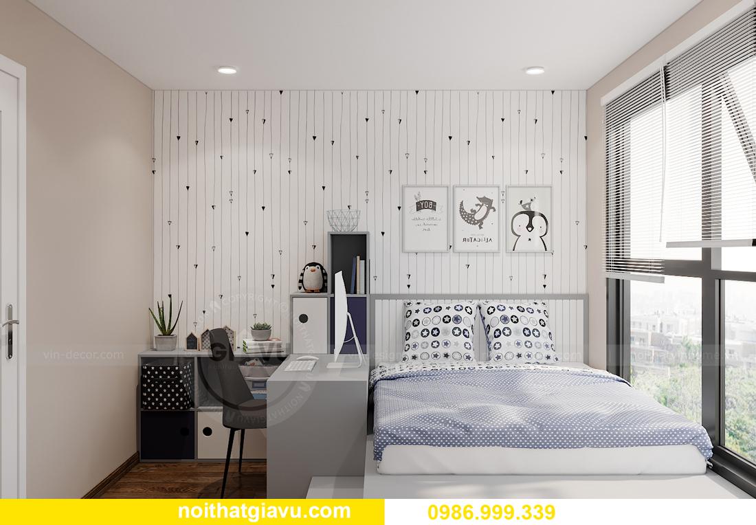mẫu thiết kế nội thất căn hộ 01 tòa S202 Vinhomes Smart City 13